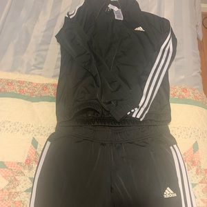 Black Adidas Jumpsuit